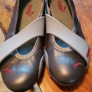 PUMA Gray Tennis shoes